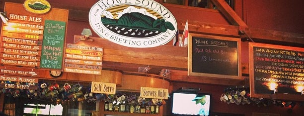 Howe Sound Inn and Brewing Company is one of Beer Tout la monde.