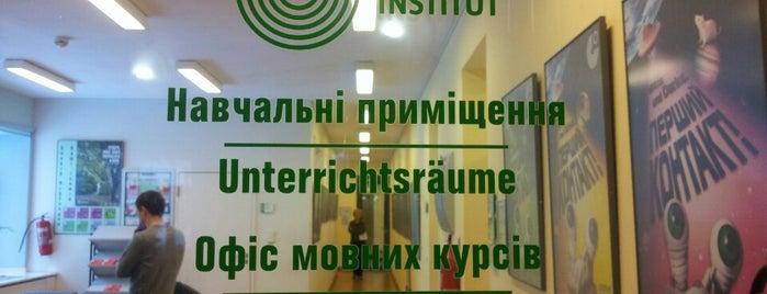 Goethe Institut is one of Study.