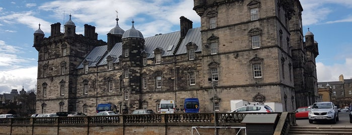 George Heriot's School is one of Harry Potter sights.
