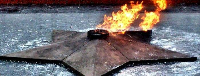 Вечный огонь is one of Парки и скверы🌳.