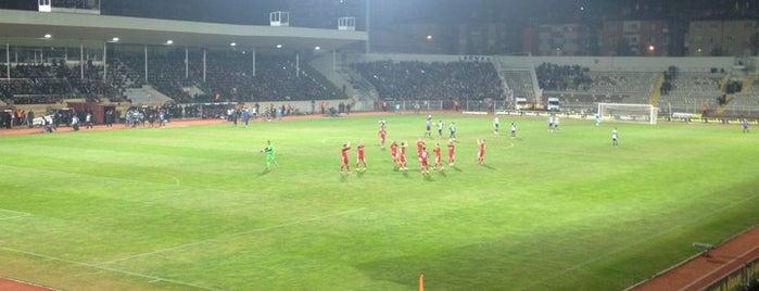 Sivas 4 Eylül Stadyumu is one of boggle.