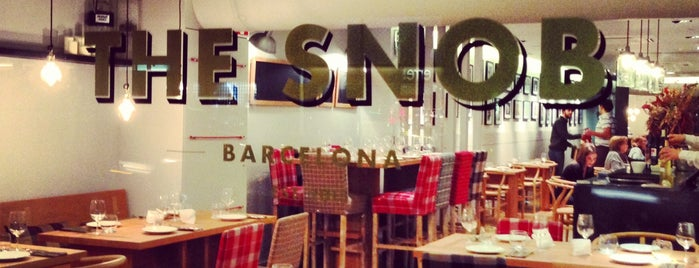 The Snob is one of Restaurant.
