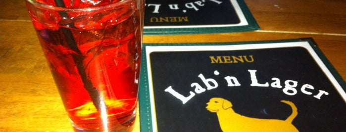 Lab 'n Lager is one of My favorite places.