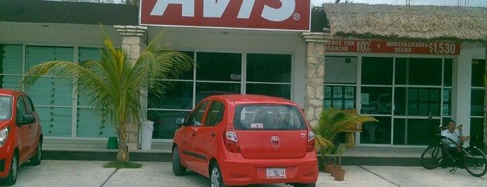 Avis Renta de Autos Tulum Centro is one of Global.