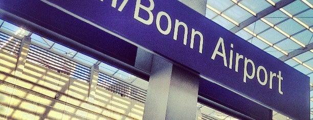 Cologne/Bonn Airport Railway Station is one of Bahnhöfe Deutschland.