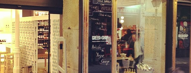 Greek and Shop is one of Desayunos y meriendas en Madrid.