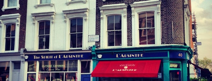 L'Absinthe is one of London.
