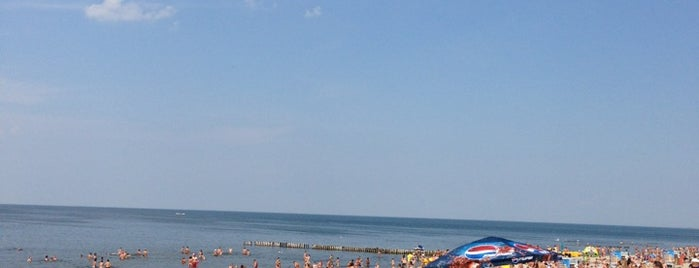 Зеленоградский пляж is one of Сходить в Калининграде.