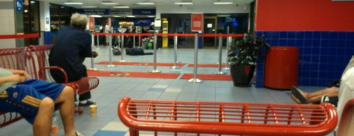Greyhound Bus Lines is one of Las Vegas.