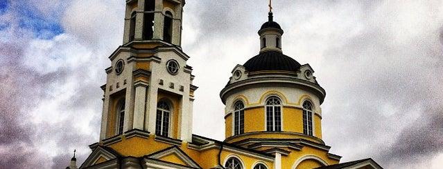 Храм Успения Пресвятой Богородицы is one of ___.