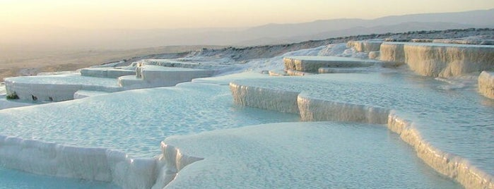 Pamukkale Travertenleri is one of ogun's.