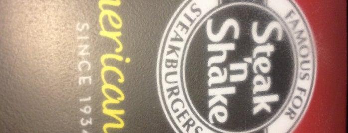 Steak 'n Shake is one of Favorites.