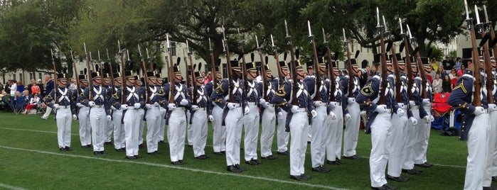The Citadel is one of Charleston, SC.