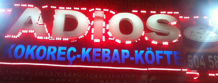 Adios Kokoreç is one of The 15 Best Trendy Places in Istanbul.