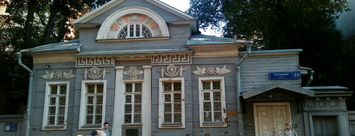 Выставочный зал ГосНИИ Реставрации is one of ВыСтавки.
