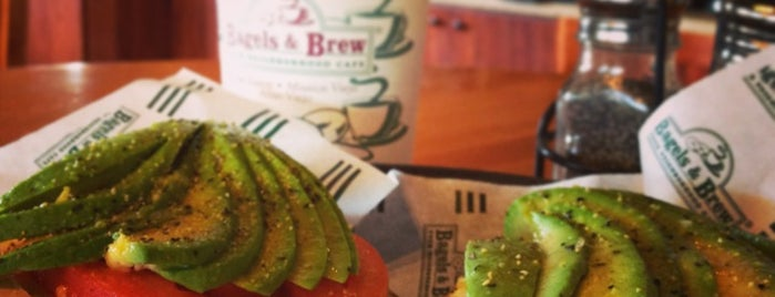 Bagels & Brew is one of Healthy Fast-Casual Dining - OC.