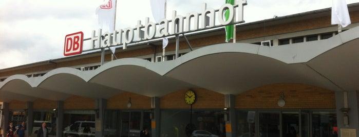 Wolfsburg Hauptbahnhof is one of Ausgewählte Bahnhöfe.