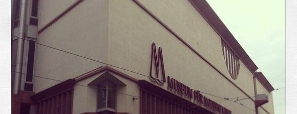 Museum für Moderne Kunst is one of Must-visit Art Galleries in Frankfurt am Main.