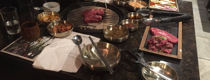 Samwon Garden BBQ is one of manhattan restaurants.