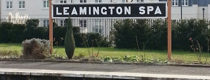 Leamington Spa Railway Station (LMS) is one of Rail stations.