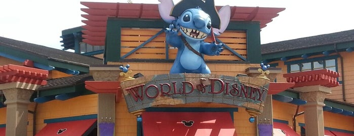 World of Disney is one of Orlando.