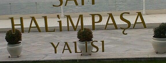 Sait Halim Paşa Yalısı is one of Istanbul'da Manzara.