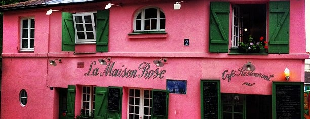 La Maison Rose is one of Paris, je mange.