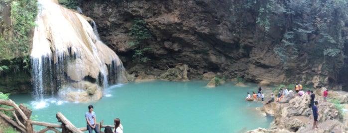น้ำตกก้อหลวง อุทยานแห่งชาติแม่ปิง is one of ลำพูน, ลำปาง, แพร่, น่าน, อุตรดิตถ์.