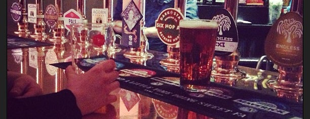 The Craft Beer Co. is one of London's Best Bars - 2013.