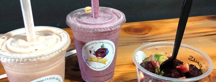 The Mad Beet is one of SD: Food & Drinks.