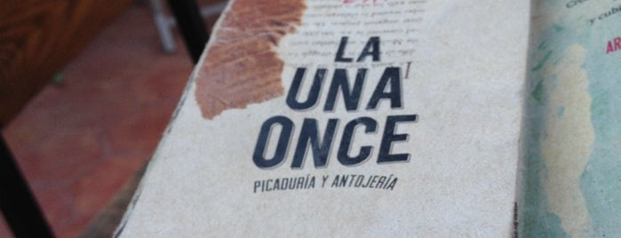 La Una Once is one of Lugares para comer.
