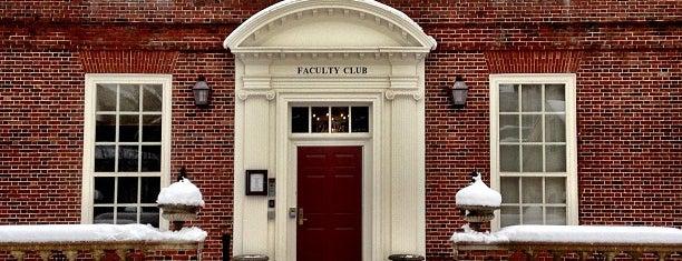 Harvard Faculty Club is one of BOS.