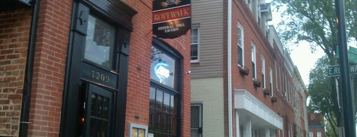 Ropewalk Tavern is one of Federal Hill Bars and Taverns.