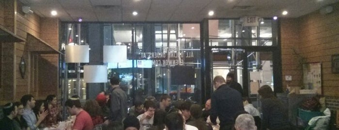 Eden Wok is one of kosher manhattan: meat restaurants.