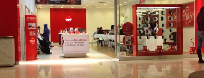 Claro is one of ParkShoppingSãoCaetano.