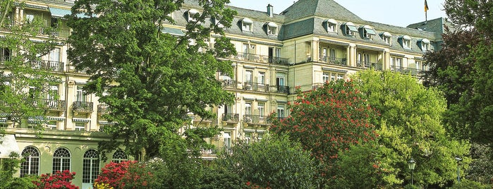 Brenners Park Hotel & Spa is one of Hideaways.