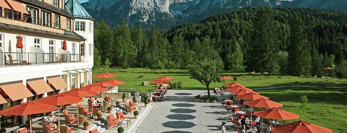 Hotel Schloss Elmau is one of Hideaways.