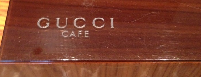 GUCCI CAFE is one of suki.tokyo.