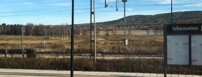 Leksand Station is one of Tågstationer - Sverige.
