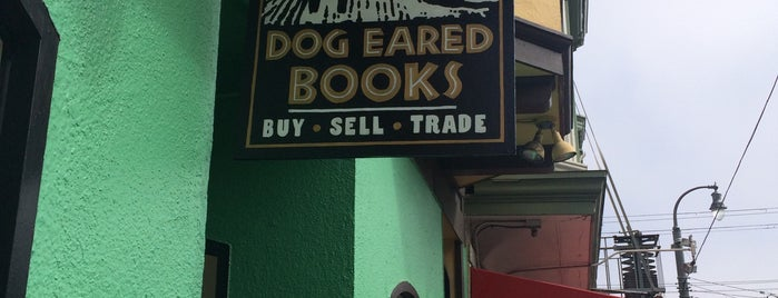 Dog Eared Books is one of San Francisco.