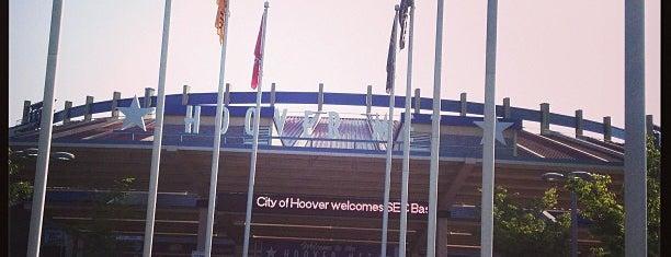 Hoover Metropolitan Stadium is one of DRINKS.