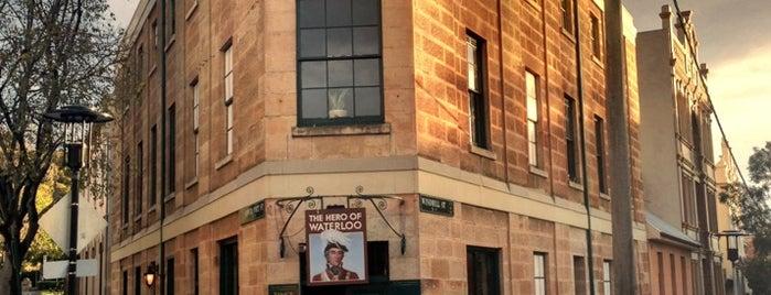 The Hero of Waterloo is one of Sydney.