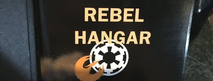 Rebel Hangar is one of Star Wars Weekend.