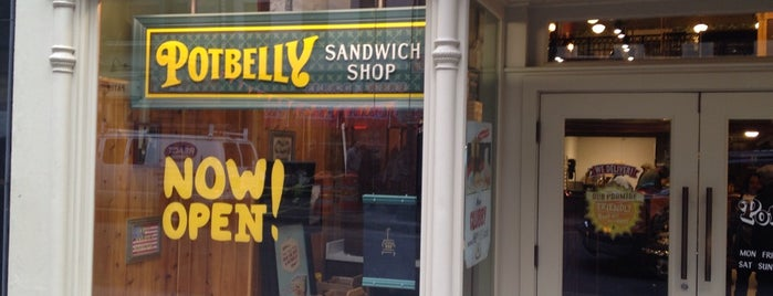 Potbelly Sandwich Shop is one of NYC: FiDi Luncher.
