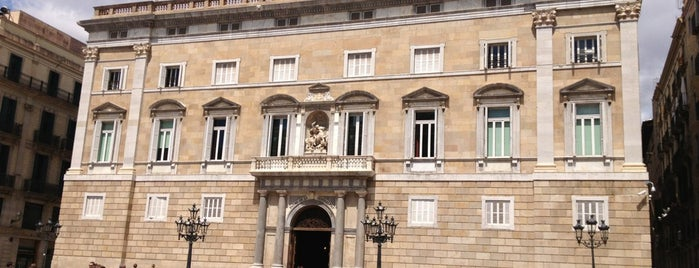 Palau de la Generalitat de Catalunya is one of gencat.