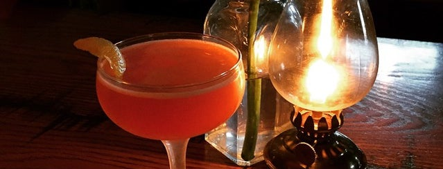 Curio is one of 50 Top Cocktail Bars in the U.S..