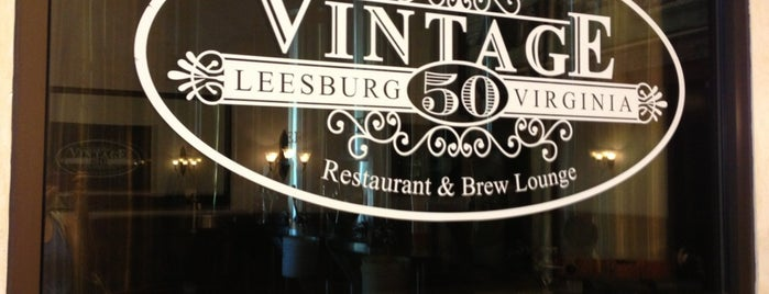 Vintage 50 is one of Fave Eats.