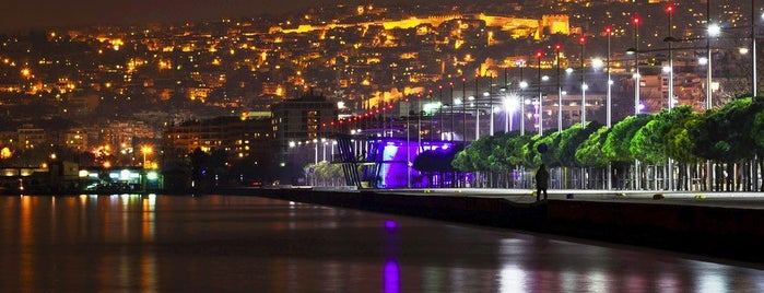 Thessaloniki Seafront is one of Selanik'te gorulmesi gereken yerler.