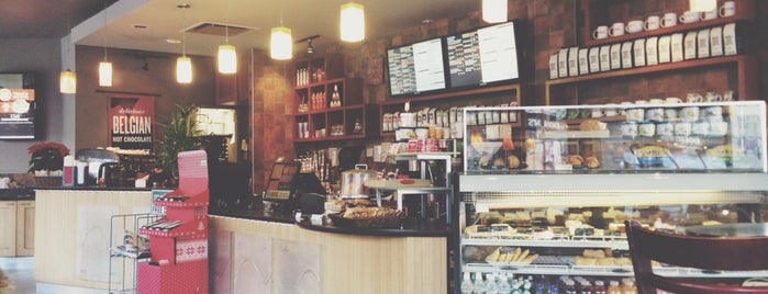 Blenz Coffee is one of Tidbits Vancouver 2.