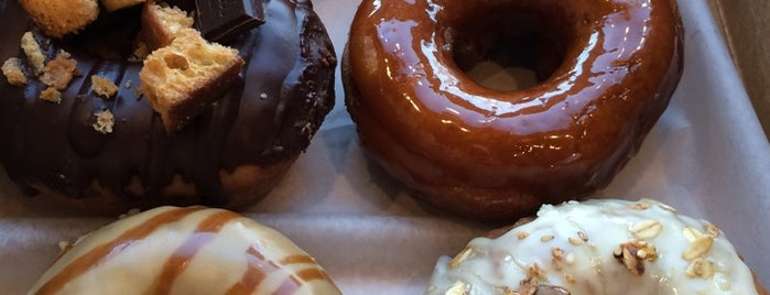 Vortex Doughnuts is one of The 15 Best Places for Desserts in Asheville.